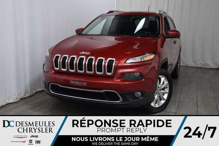 2016 Jeep Cherokee Limited * NAV * Cam Rec * Sièges Chauff / Vent for Sale  - DC-A1290  - Desmeules Chrysler