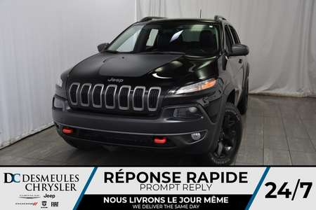 2017 Jeep Cherokee Trailhawk * Toit Ouvr Pano * Cam Rec * Vol Chauff for Sale  - DC-M1206  - Desmeules Chrysler