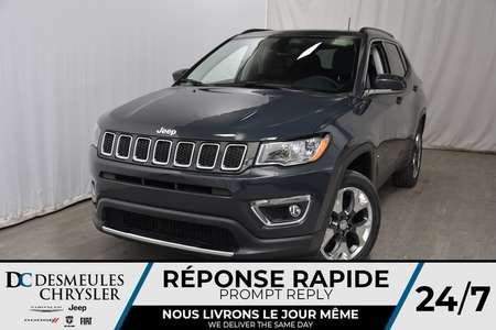 2018 Jeep Compass Limited for Sale  - DC-81238  - Blainville Chrysler
