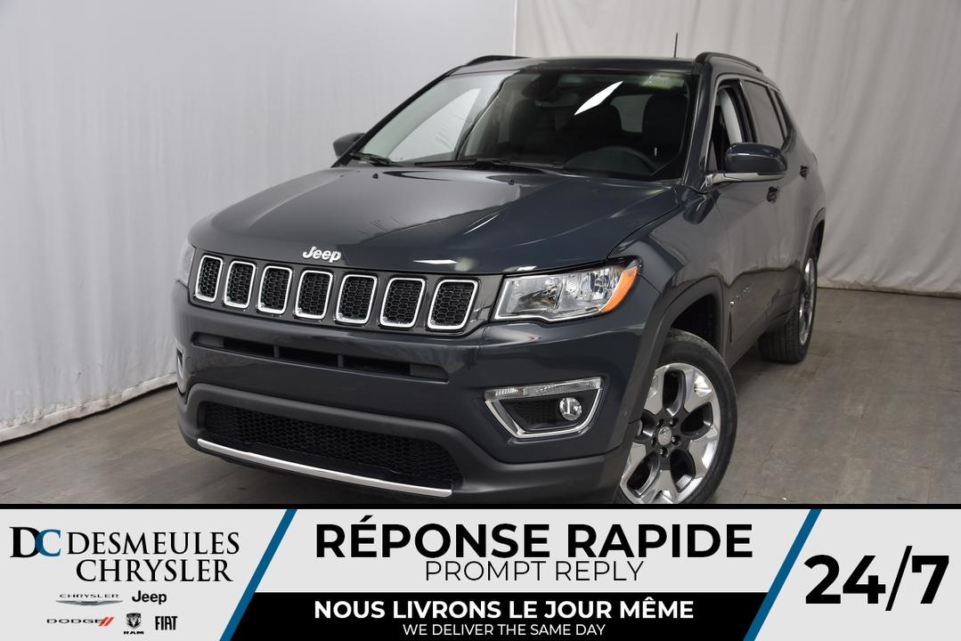 2018 Jeep Compass  - Desmeules Chrysler