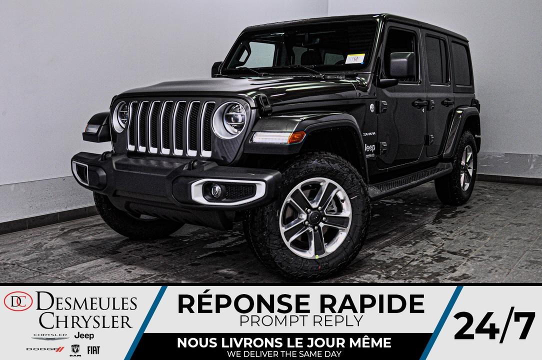 2020 Jeep Wrangler  - Desmeules Chrysler