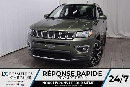 2018 Jeep Compass Limited * Toit Ouvr Pano * Cam Rec * Démarr à Dist for Sale  - DC-M1251  - Blainville Chrysler