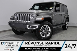 2020 Jeep Wrangler Unlimited Sahara + TURBO + UCONNECT + WIFI *144$/SEM  - DC-20146  - Blainville Chrysler