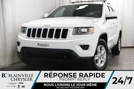 2014 Jeep Grand Cherokee LAREDO + V6 3.6L + 4X4 + MAGS + TOIT + BLUETOOTH for Sale  - BC-80232A  - Blainville Chrysler