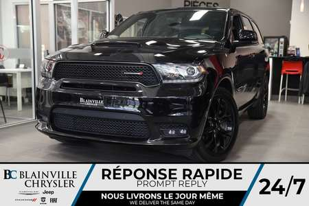 2019 Dodge Durango R/T + AWD + V8 5.7L + MAGS + TOIT + CUIR for Sale  - BC-P1222  - Desmeules Chrysler