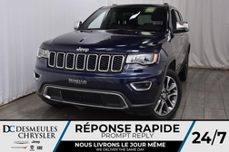 2018 Jeep Grand Cherokee Limited * Cam Rec * Toit Ouvr * NAV * Démarr Dist  - DC-M1284  - Desmeules Chrysler