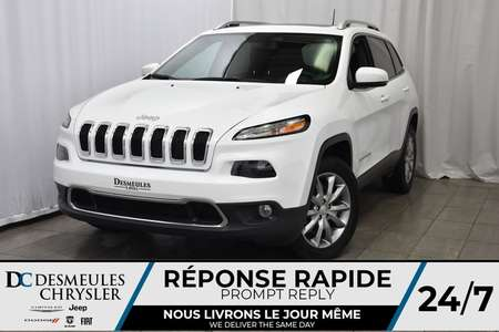 2018 Jeep Cherokee ToitOuvr. Pano. * Bouton Start * Cam. Recul * NAV for Sale  - DC-DE80089  - Desmeules Chrysler