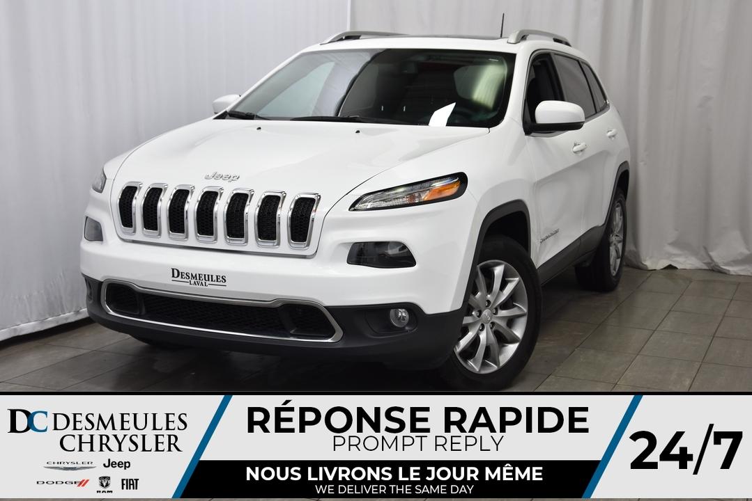 2018 Jeep Cherokee  - Desmeules Chrysler