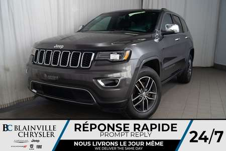 2017 Jeep Grand Cherokee LIMITED * MAGS * 4X4 * RADIO SATELLITE * NAV for Sale  - BC-P1400  - Desmeules Chrysler
