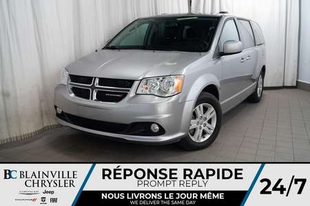 2018 Dodge Grand Caravan CREW PLUS * MAGS * BLUETOOTH * CAM RECUL * NAV for Sale  - BC-P1420  - Desmeules Chrysler