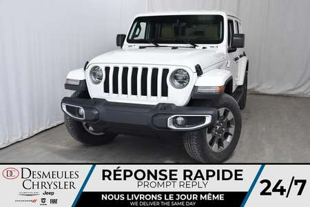 2019 Jeep Wrangler Sahara Unlimited 158$/sem for Sale  - DC-90364  - Desmeules Chrysler