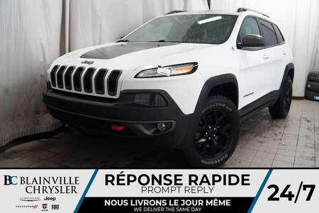 2017 Jeep Cherokee TRAILHAWK * MAGS * 4X4 * BLUETOOTH * CLIM BI-ZONE for Sale  - BC-90360A  - Blainville Chrysler