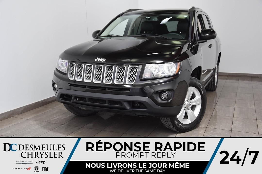 2016 Jeep Compass  - Desmeules Chrysler