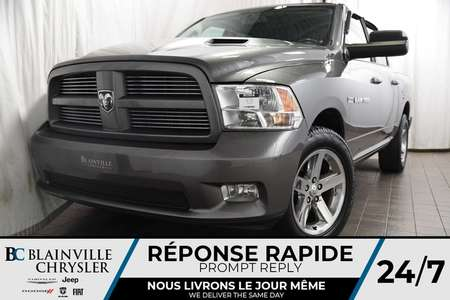 2012 Ram 1500 SPORT + V8 5.7L + 4X4 + MAGS for Sale  - BC-80395A  - Desmeules Chrysler