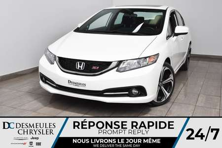 2015 Honda Civic Sedan Si * Cam Rec & Angle Mort * Sièges Chauf * 86$/Sem for Sale  - DC-M1484  - Desmeules Chrysler