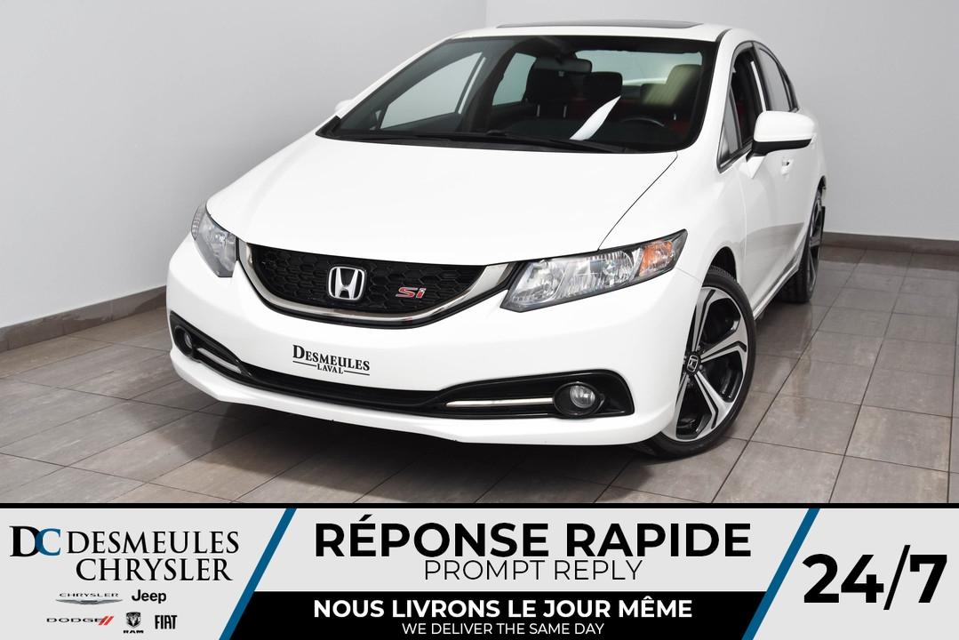 2015 Honda Civic Sedan  - Desmeules Chrysler