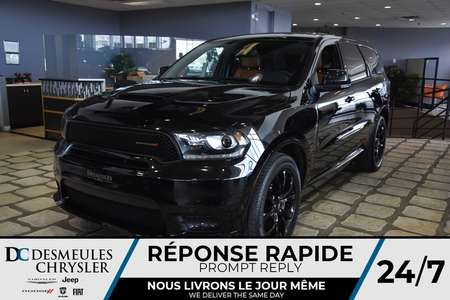 2019 Dodge Durango R/T *TOW PACK.* INT. ROUGE* WOW* 194.83$/sem for Sale  - DC-90420  - Desmeules Chrysler