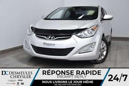 2016 Hyundai Elantra SE * Cam Rec * Sièges Chauff * 47$/Semaine for Sale  - DC-90556A  - Blainville Chrysler