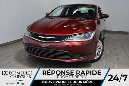 2016 Chrysler 200 LX * Bout. Démarrage * A/C * 76$/Semaine for Sale  - DC-A1306  - Blainville Chrysler