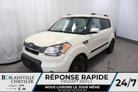 2011 Kia Soul LX AIR CLIM /MANUELLE/GR ELECTRIQUE+BLUETOOTH for Sale  - BC-P1097  - Desmeules Chrysler