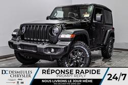 2020 Jeep Wrangler Willys + TURBO + BANCS CHAUFF *117$/SEM  - DC-20259  - Desmeules Chrysler