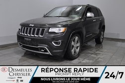 2015 Jeep Grand Cherokee Overland + bancs chauff + toit ouv + cam recul  - DC-B1572  - Desmeules Chrysler