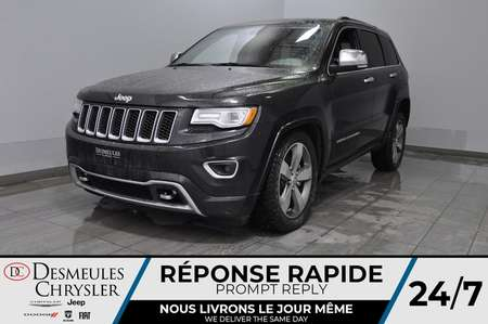 2015 Jeep Grand Cherokee Overland + bancs chauff + toit ouv + cam recul for Sale  - DC-B1572  - Blainville Chrysler