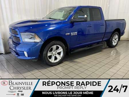 2015 Ram 1500 SPORT * CAMERA RECUL * NAVIGATION * BLUETOOTH for Sale  - BC-90353A  - Blainville Chrysler