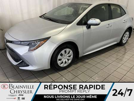 2019 Toyota Corolla Hatchback SE * AUTOMATIQUE * BLUETOOTH * A/C * GPS * CRUISE for Sale  - BC-P1627  - Desmeules Chrysler