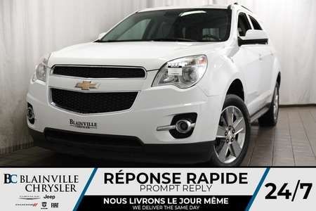 2013 Chevrolet Equinox LT + AWD + CAM RECUL + MAGS + CUIR + NAV for Sale  - BC-80393A  - Blainville Chrysler
