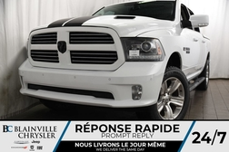 2017 Ram 1500 125$/SEM + SPORT + V8 5.7L + MAGS + TOIT + CUIR  - BC-P1233  - Desmeules Chrysler