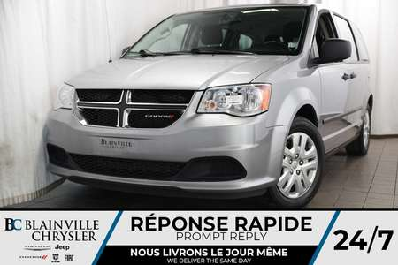 2017 Dodge Grand Caravan SE+ V6 3.6L + BLUETOOTH + CLIM BI-ZONE + RADIO SAT for Sale  - BC-P1264  - Desmeules Chrysler