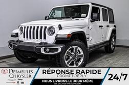 2020 Jeep Wrangler Sahara + TURBO + BANCS CHAUFF + UCONNECT *144$/SEM  - DC-20225  - Blainville Chrysler