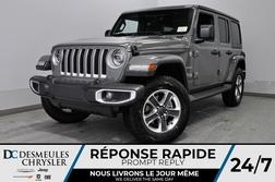 2020 Jeep Wrangler Unlimited Sahara + BANCS CHAUFF + UCONNECT  *164$/SEM  - DC-20229  - Blainville Chrysler