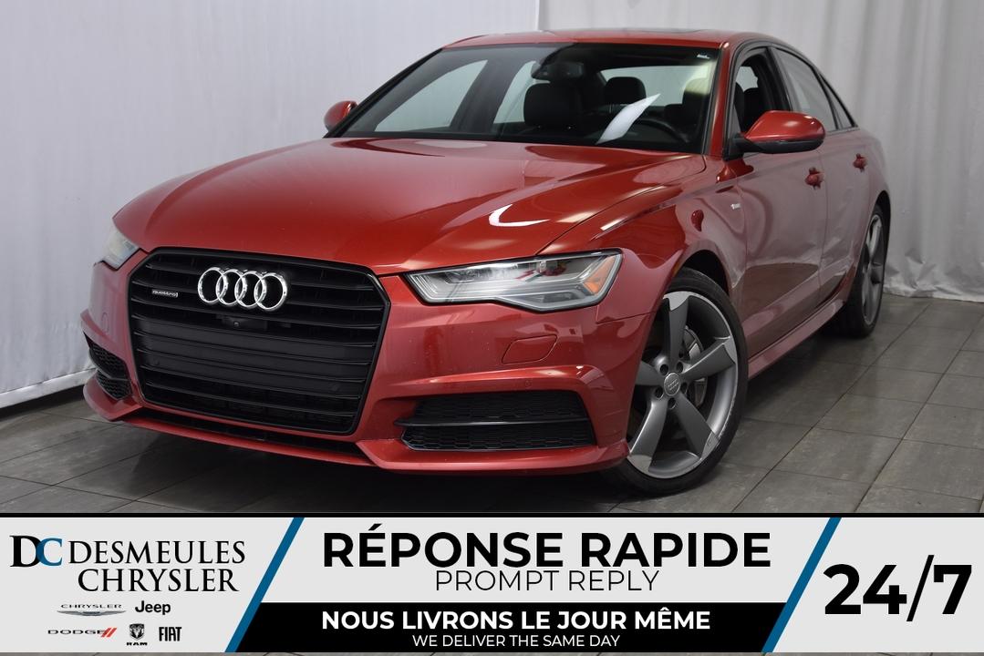 2016 Audi A6  - Desmeules Chrysler