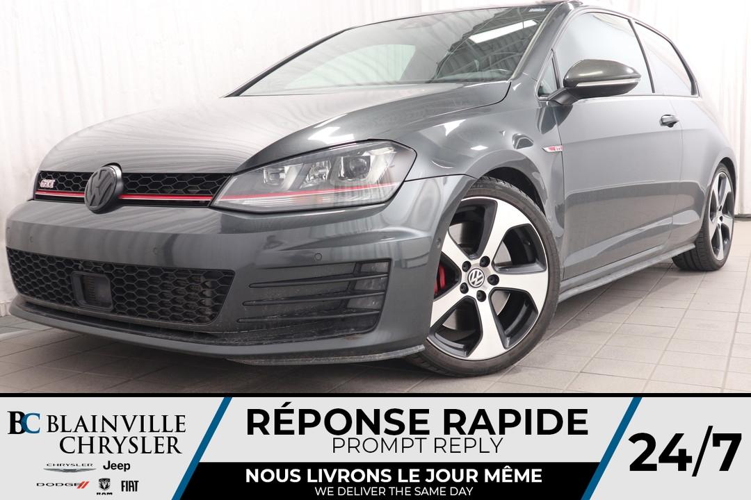 2016 Volkswagen Golf GTI  - Desmeules Chrysler