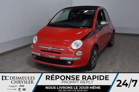 2014 Fiat 500c Lounge * Toit Ouvr Pano * Sièges Chauff * 65$/Sem for Sale  - DC-A1541  - Desmeules Chrysler