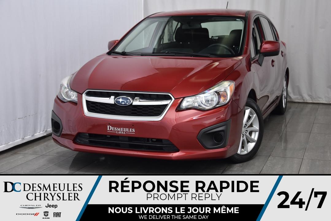 2014 Subaru Impreza Wagon  - Desmeules Chrysler