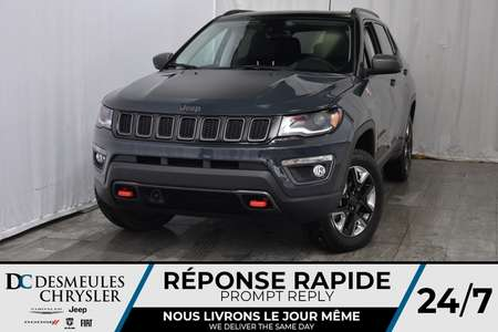 2018 Jeep Compass Trailhawk for Sale  - DC - 81172  - Desmeules Chrysler