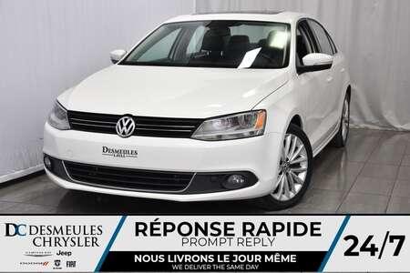 2012 Volkswagen Jetta Sedan HIGHLINE *TDI * Cuir * Toit Ouvr. * Bouton Start * for Sale  - DC-A0973  - Desmeules Chrysler