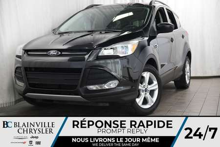 2015 Ford Escape SE + CUIR + BLUETOOTH + CLIM BIZONE for Sale  - BC-P1289  - Blainville Chrysler