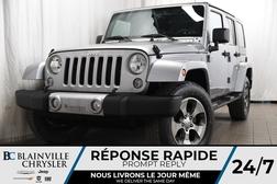 2017 Jeep Wrangler Sahara+4X4+ AUDIO ALPINE+CUIR+GPS+NAV+  - BC-P1168  - Desmeules Chrysler