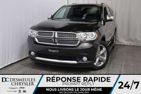2013 Dodge Durango Citadel * Toit Ouvr. * Cam. Rec. * Bouton Start for Sale  - DC-A1042  - Blainville Chrysler