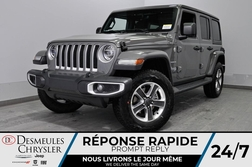 2020 Jeep Wrangler Sahara + BANCS CHAUFF + UCONNECT *149$/SEM  - DC-20350  - Desmeules Chrysler