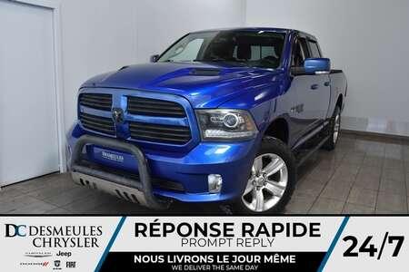 2014 Ram 1500 Sport * Sièges Chauff * Cam Rec * 167$/Semaine for Sale  - DC-A1537  - Desmeules Chrysler