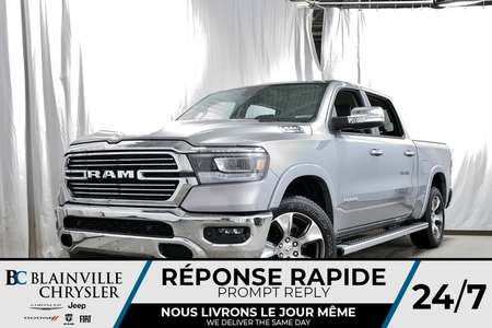 2019 Ram 1500 Laramie Crew Cab for Sale  - 90014  - Desmeules Chrysler
