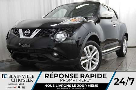2016 Nissan Juke SL + AWD + TURBO + CVT + MAGS + CAM 360 + TOIT for Sale  - BC-P1338  - Desmeules Chrysler