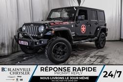 2016 Jeep Wrangler SAHARA * 4X4 * BLUETOOTH * NAV * CUIR  - BC-20160A  - Blainville Chrysler