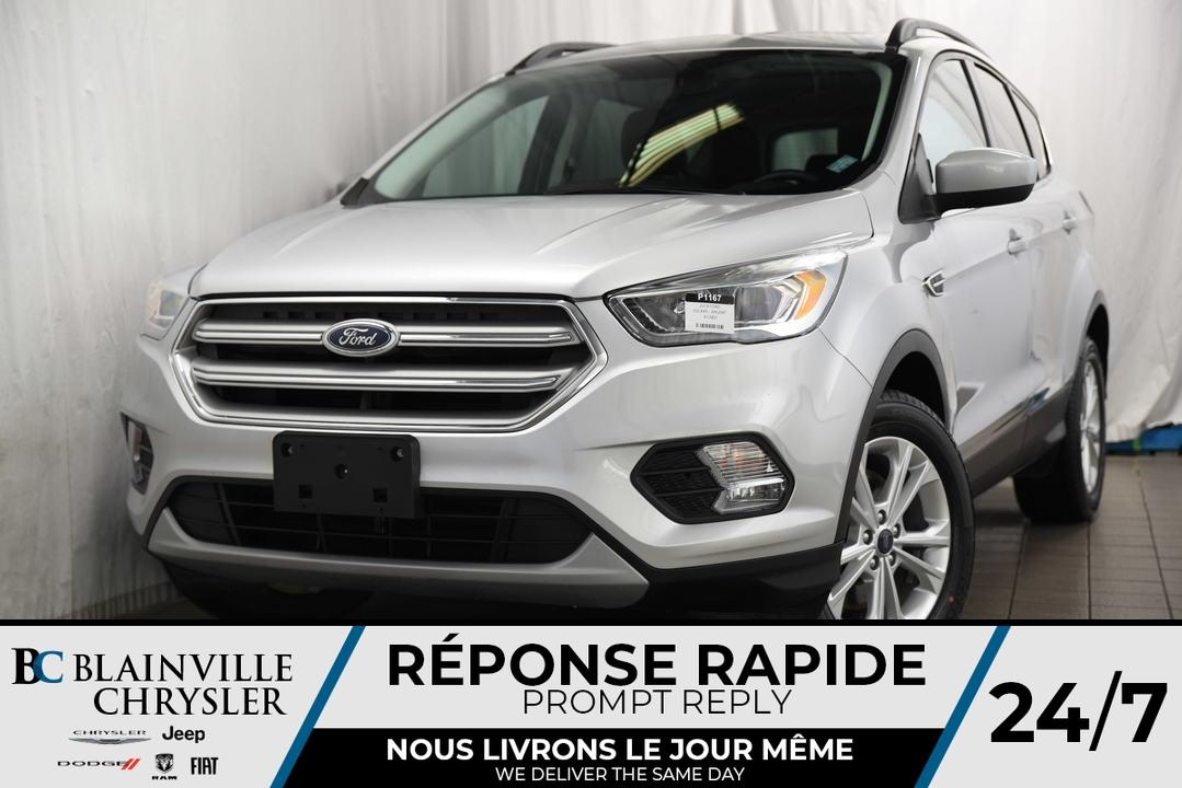 2018 Ford Escape  - Desmeules Chrysler