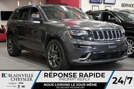 2014 Jeep Grand Cherokee SRT8 + AWD + V8 6.4L + ECHAPP. BORLA + MAGS for Sale  - BC-P1331  - Desmeules Chrysler